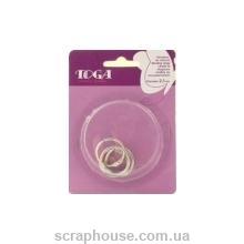 Кольца разъемные для альбома фирма TOGA (Франция), диаметр 3,0 см